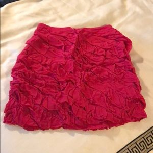 NWT Pink Anthropologie Skirt